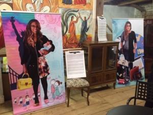 Photo expo Yasmin et Michelle